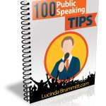 100 public speaking tips & infographic